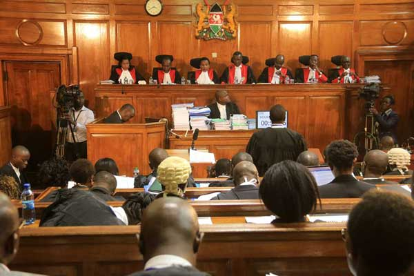 Odinga says IEBC and Uhuru did not adequately answer questions raised in the court