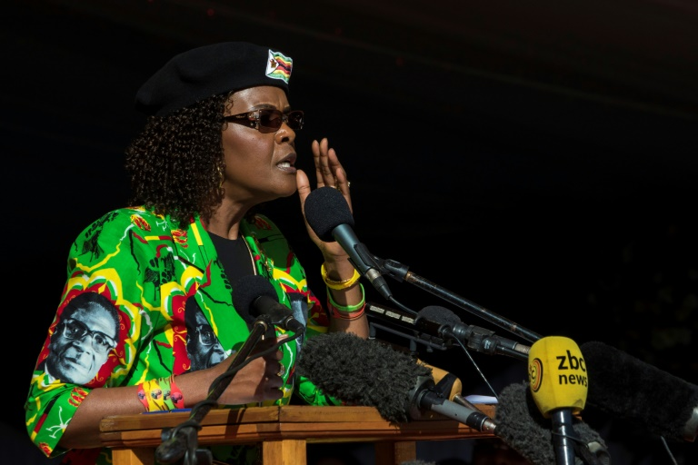 Grace Mugabe due in S.Africa court over alleged assault