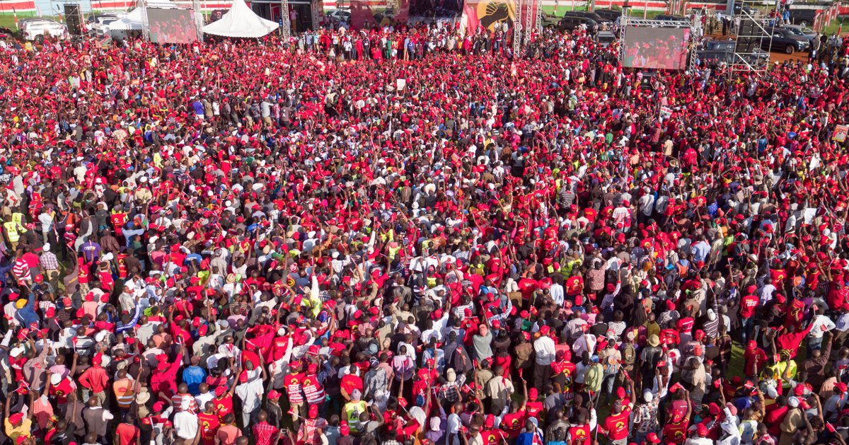 Elect us to finish what we begun in 2013,Uhuru Ruto urge supporters as campaign period elapse