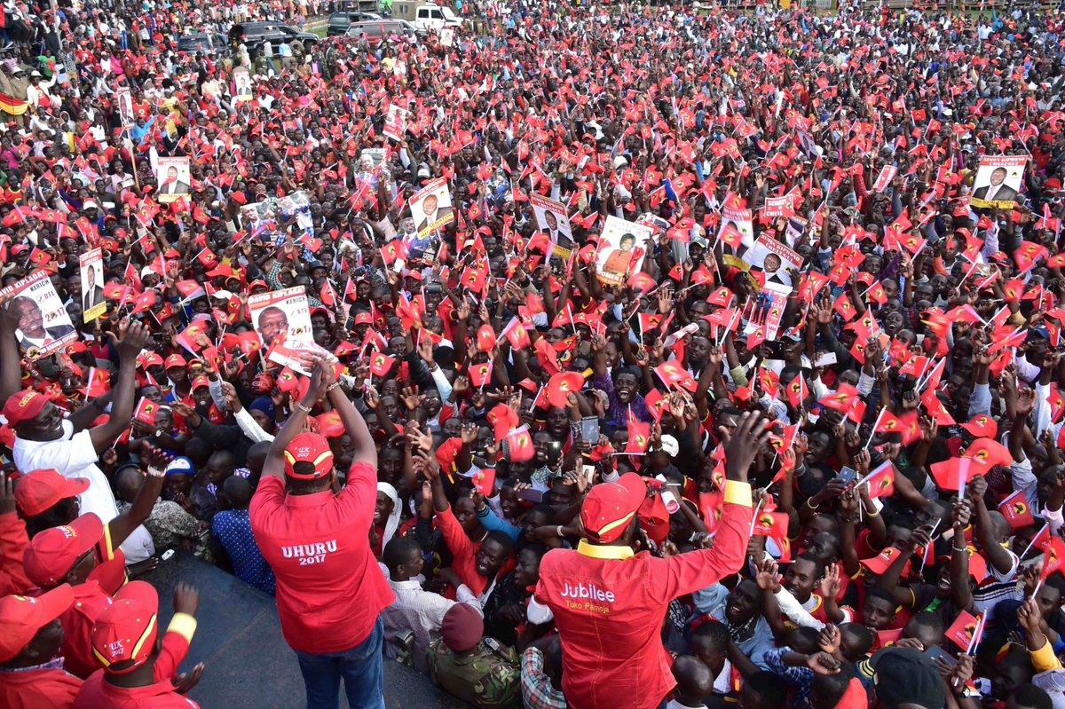 Curtains fall on the 2017 elections campaigns as Jubilee and NASA have their final campaigns