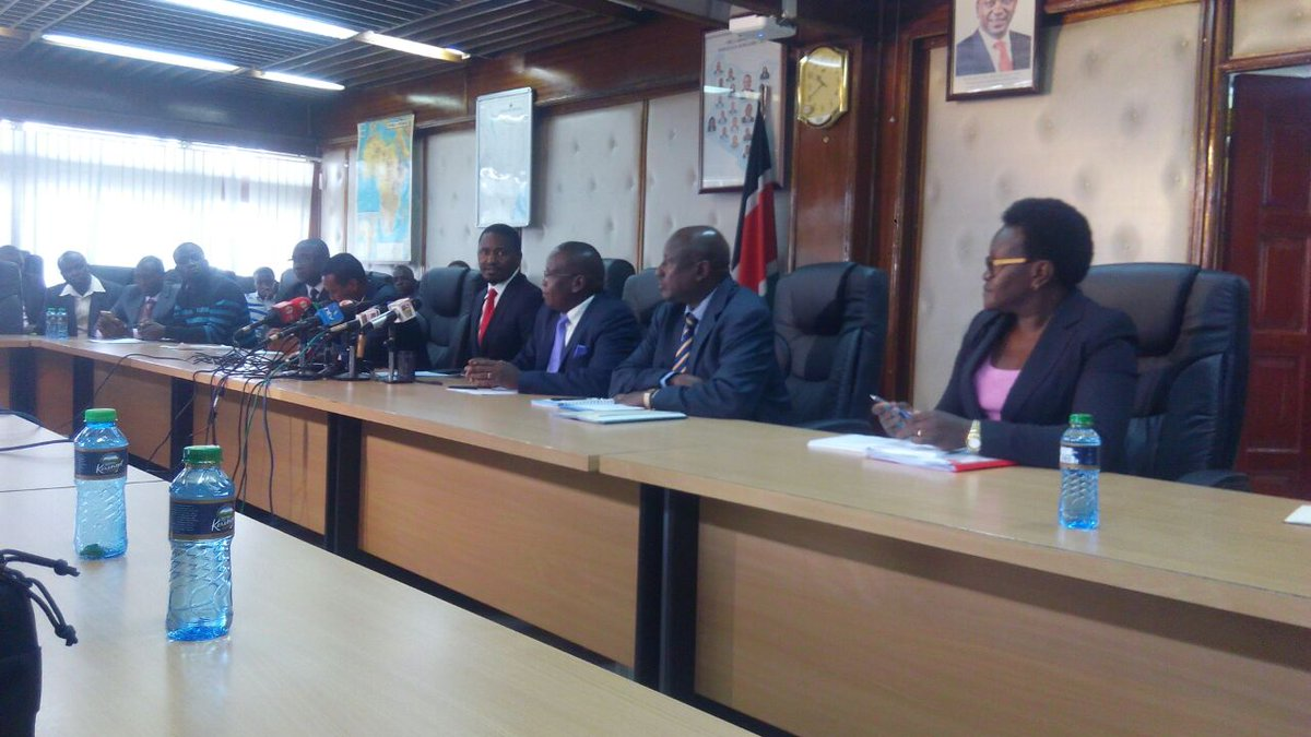 Swearing in of elected governors  to start Thursday-Kiunjuri