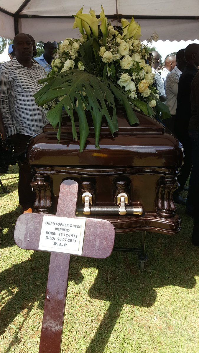 IEBC ICT Manager the late Chris Msando laid to rest in Siaya