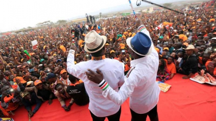 Jubilee has nothing new to offer vote for NASA to deliver Kenya's dream Says Odinga