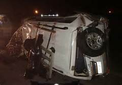 10 people die in a greasily accident on Bangal-Ukasi Road in Tana river