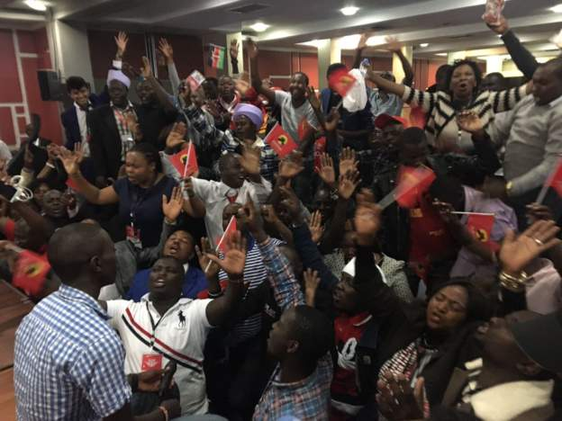 Celebration galore hit various parts of the country after Kenyatta is declared winner