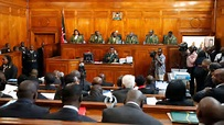 Refrain from discussing matters already in court,supreme court tells parties to presidential petition