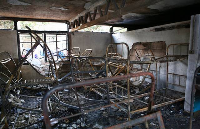 It was an arson attack,CS Matiang'i says of Moi girls schools fire incident
