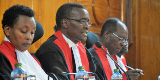 Kenya belongs to all of us ,let us tolerate each other and respect the courts!