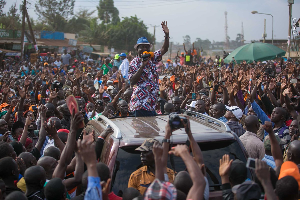 No turning back,says NASA as it announces nationwide demonstrations to force IEBC officials out on Tuesday