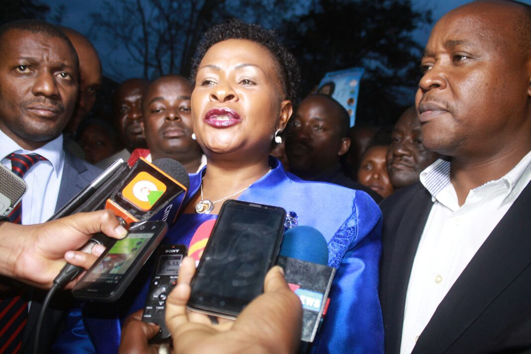 True to her words,Wavinya Ndeti files case in court challenging Governor Mutua's re-election
