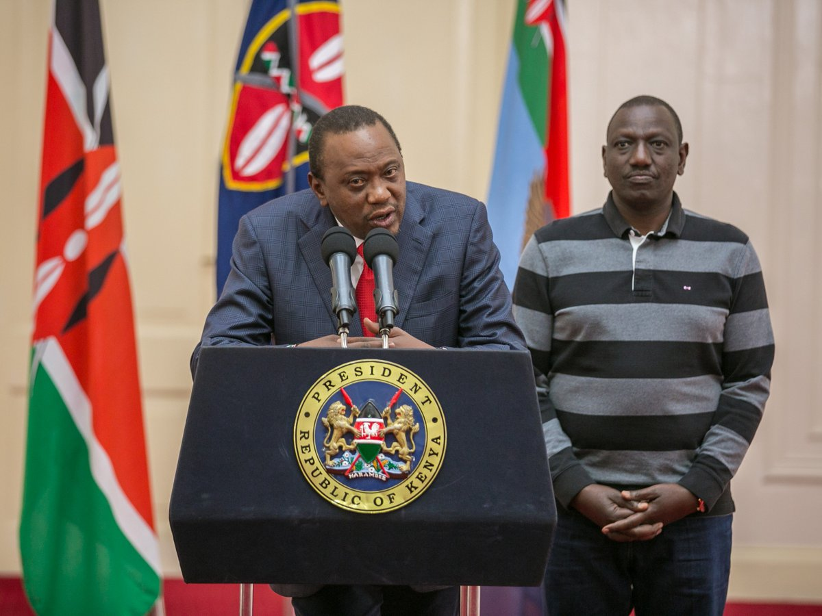 Uhuru urges peace after supreme court ruling,affirms that he is ready for a fresh election.