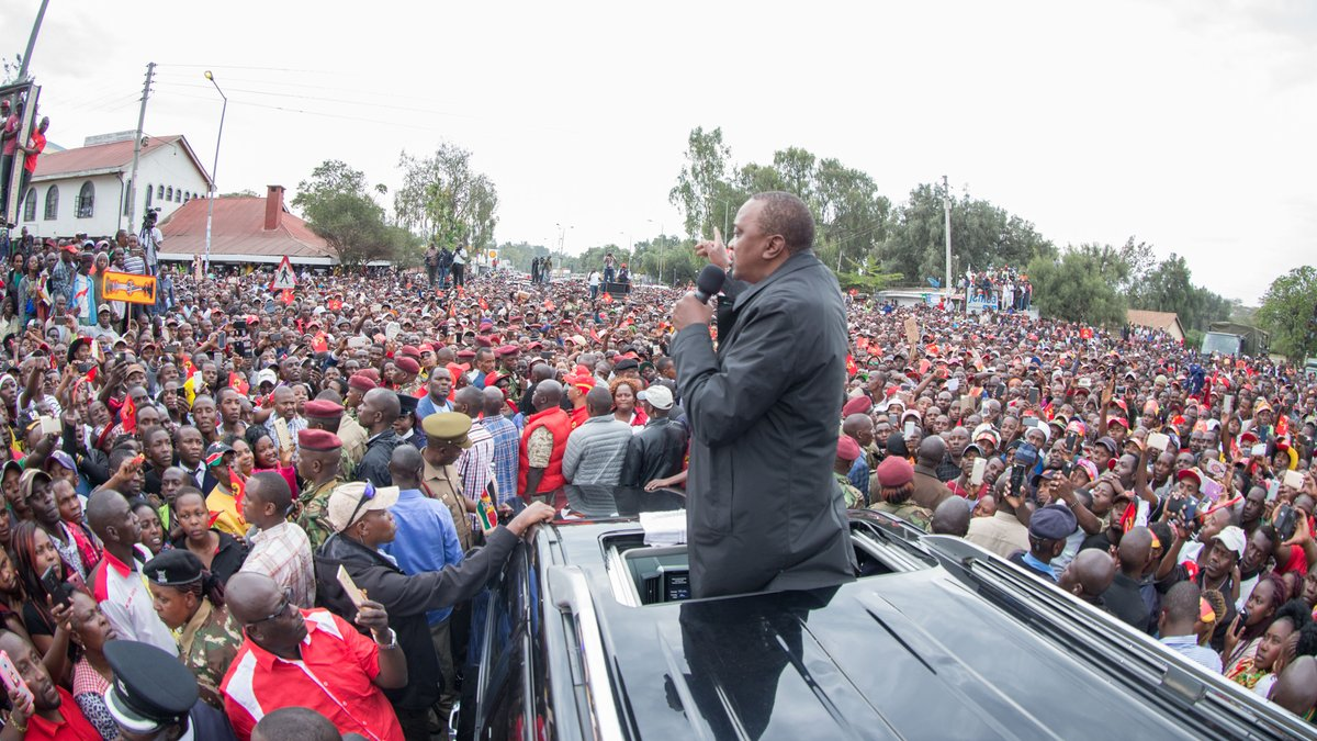 Jubilee to hold campaign rallies in Nairobi,as NASA goes  for Narok.