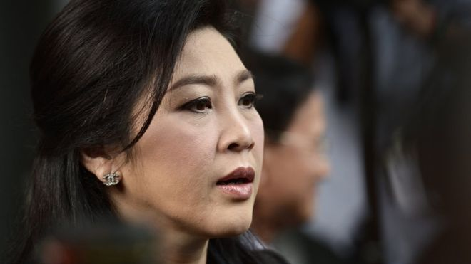 Yingluck trial: Thai ex-PM sentenced to five years in jail