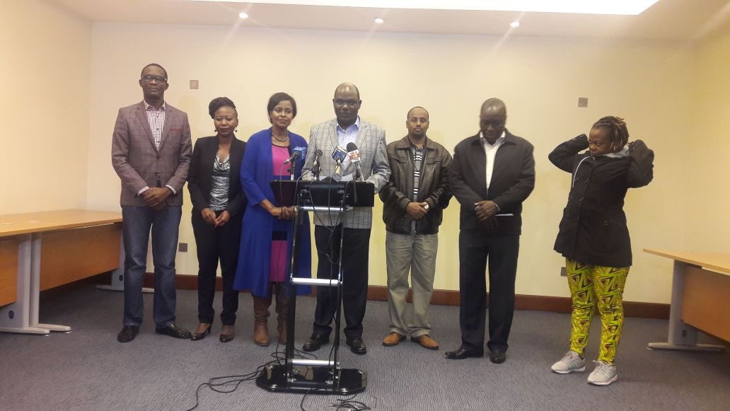 We are united for a common purpose,Chebukati says as  he denies IEBC was working with opposition