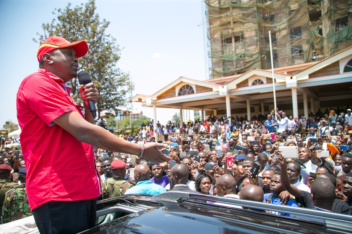 We are ready for repeat poll,Uhuru Ruto affirms as they take Jubilee campaigns to Embu