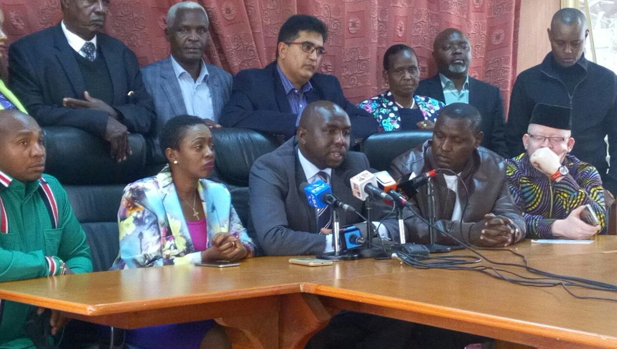 Jubilee Mps accuse Raila of giving IEBC conditions for election re-run