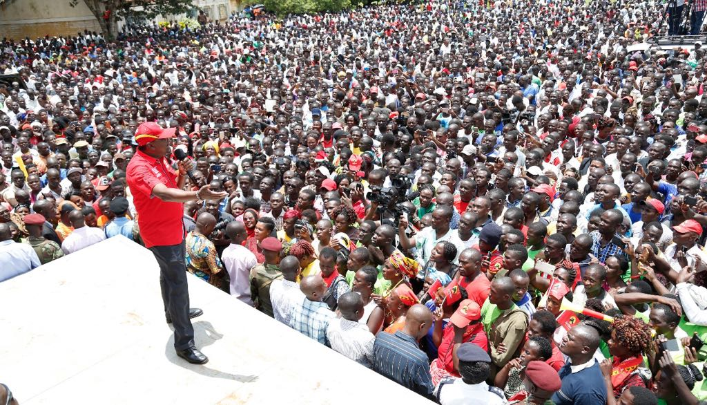 Changes in electoral laws mean well,Uhuru affirms