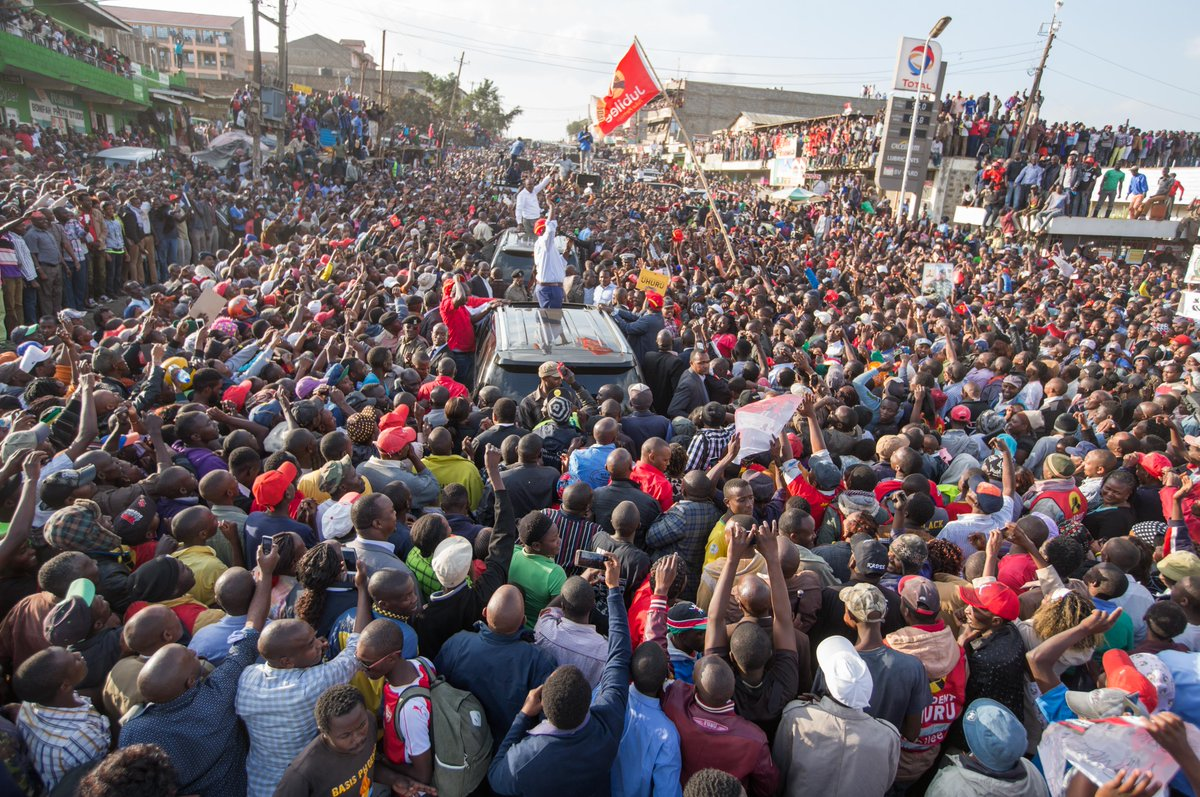 Uhuru,Ruto says they are ready for a repeat election