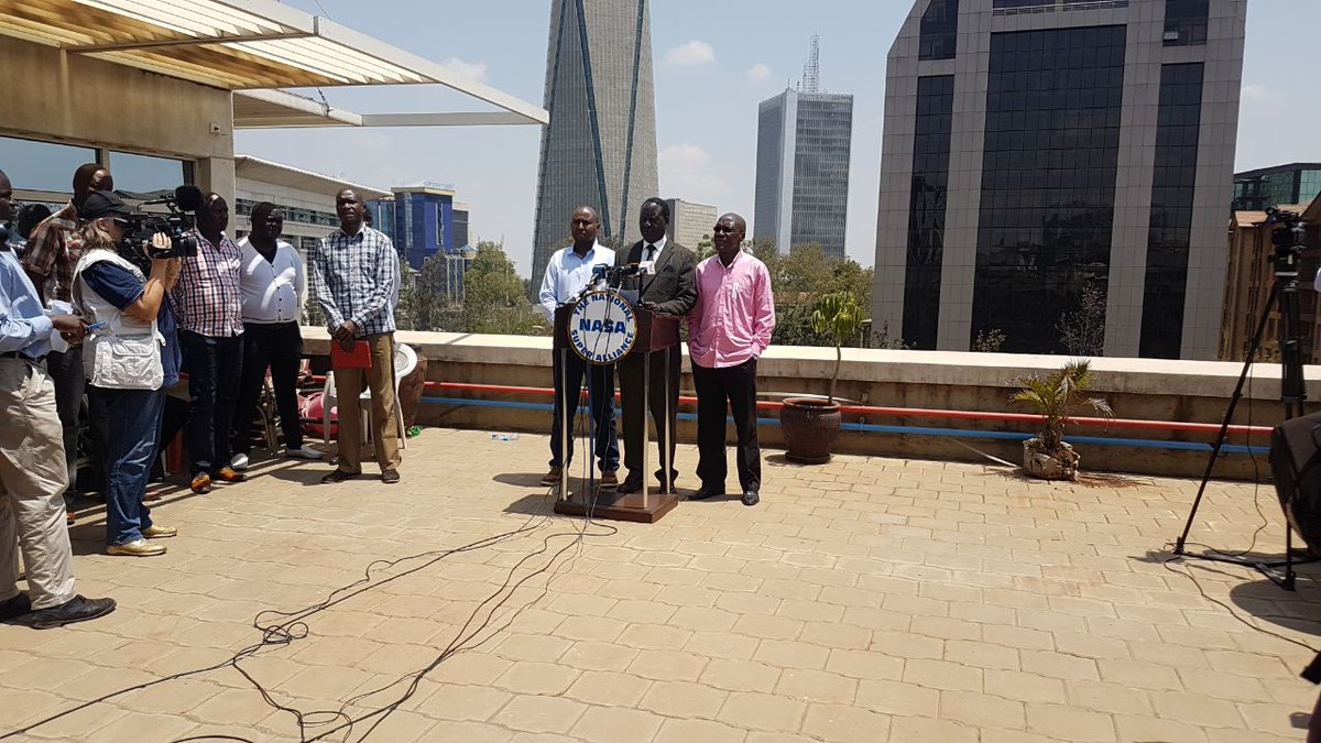 Safaricom comes under sharp criticism as NASA plans to  open private prosecution against IEBC officials who bungled polls