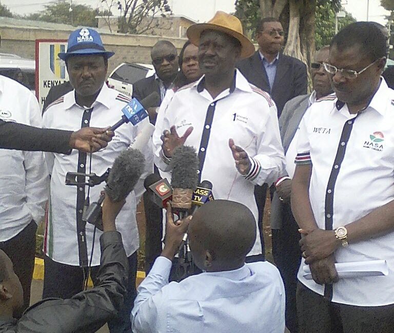We will not accept 17th Oct date set for election re-run,Vows Odinga as he says IEBC didn't  consult him.