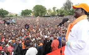 NASA takes its campaign to Siaya county ahead of repeat presidential poll