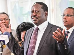 Former prime minister Raila Odinga is in perfect health and well-Spokesman Dennis Onyango
