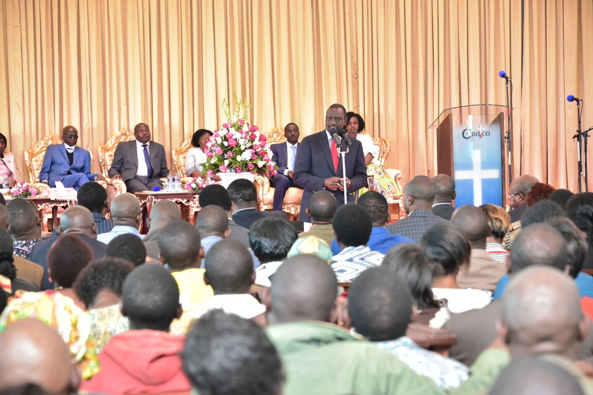 Government to ensure Kenyans participate in the October 17 presidential polls peacefully-DP Ruto