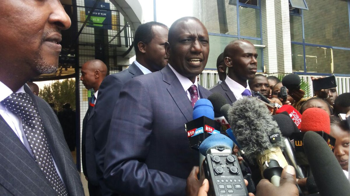 DP Ruto leads  Jubilee leaders in condemning NASA's products boycott