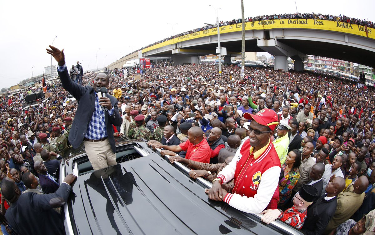 Supreme court ruling will not stand on our way to victory,Jubilee affirms.