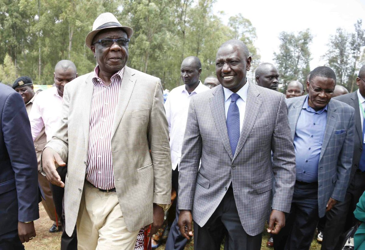 The opposition  is a afraid of losing by a bigger margin ,says DP Ruto as he takes campaigns to Vihiga