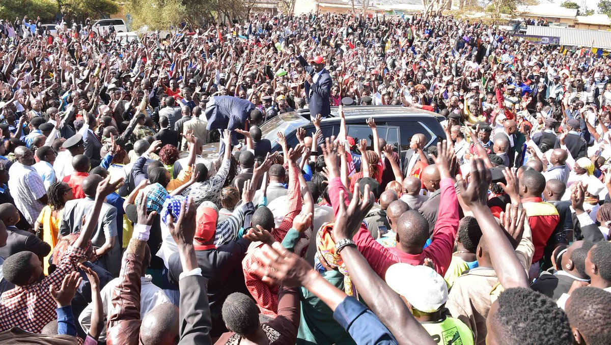 Odinga is destined to lose the repeat presidential ...