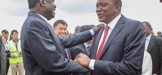 The will of Kenyan voters will be respected,Uhuru,Odinga affirm