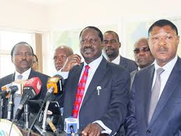 Anti-IEBC officials demonstrations still on ,says NASA  as IEBC  urges Principals to give talks a chance.