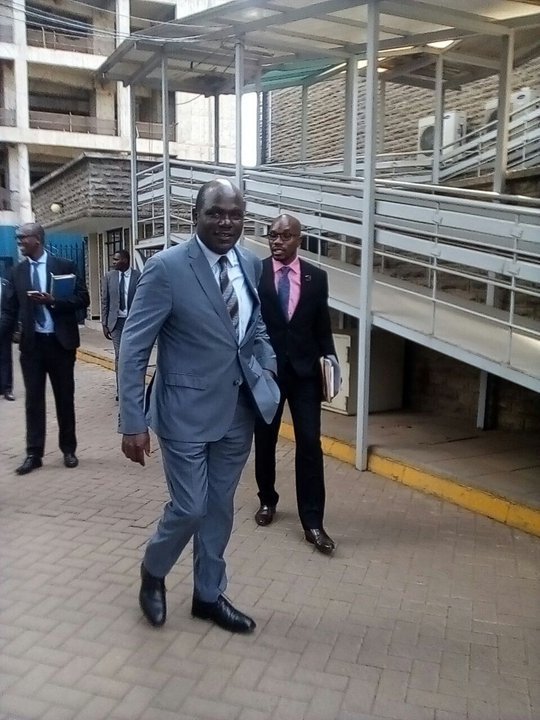 IEBC chair Wafula Chebukati kicked out of the hearing by Parliamentary Select Committee on election laws amendments,asked to come with other commissioners