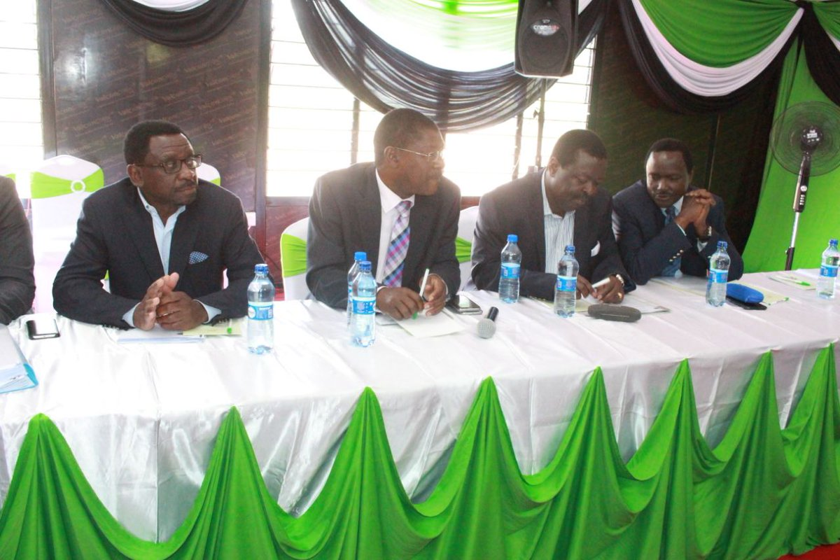 It is all systems go as NASA,Jubilee and IEBC hold meeting