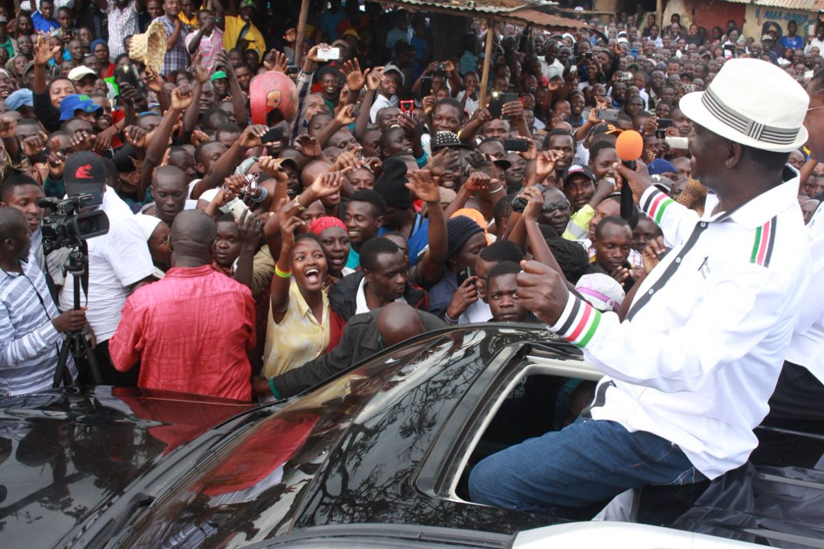 NASA takes NO election campaign to Transnzoia county,urges supporters to keep off Thursday's repeat poll
