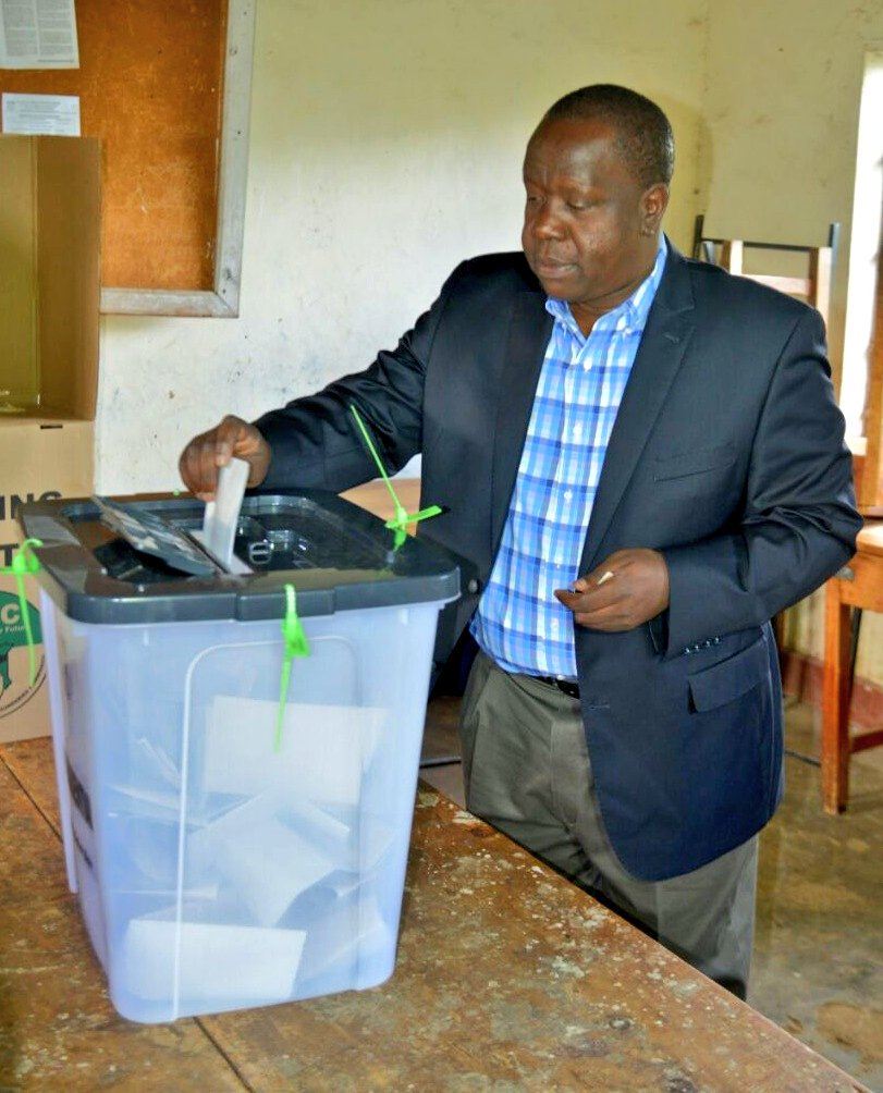 Your security is assured Matiang'i tells Kenyans as voting gets underway