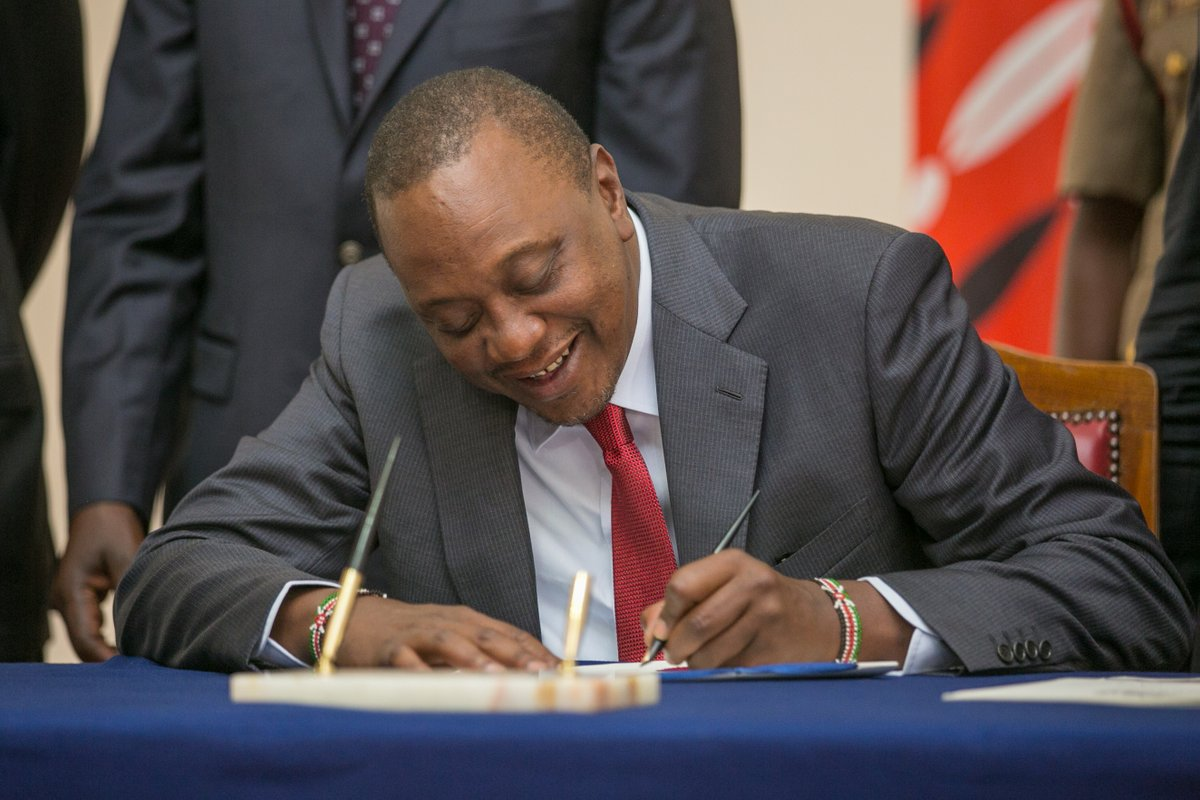 President Uhuru submits names of new cabinet nominees to parliament ahead of vetting