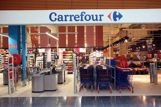 The fastest growing Supermarket chain  Carrefour  opens Galleria Mall store