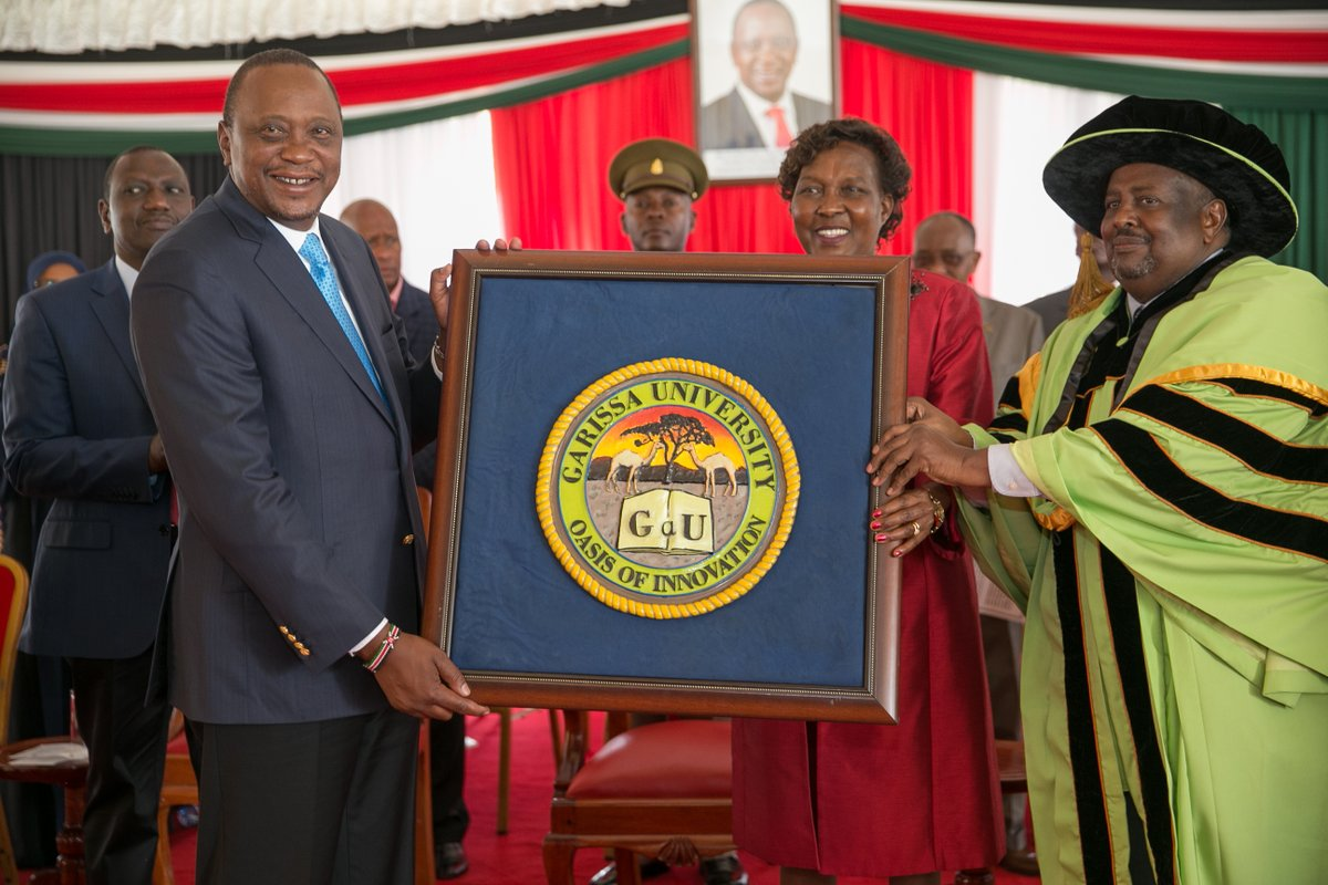 Garissa University  is fully fledged after getting  charter