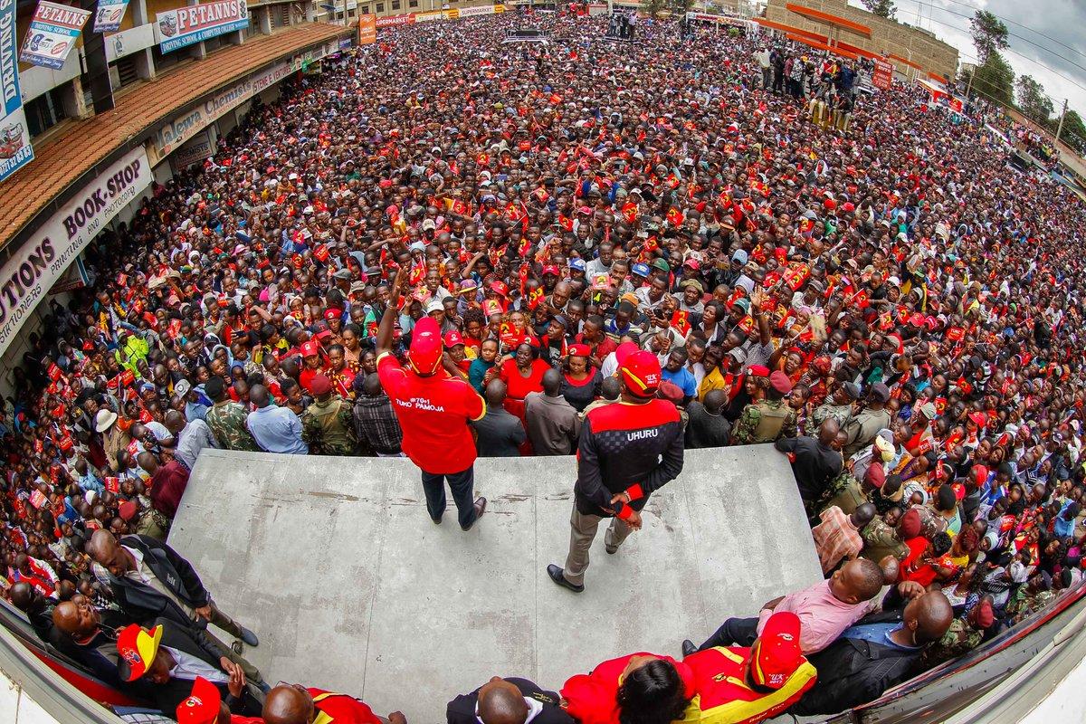 No dialogue on election standoff  ,Jubilee tell NASA