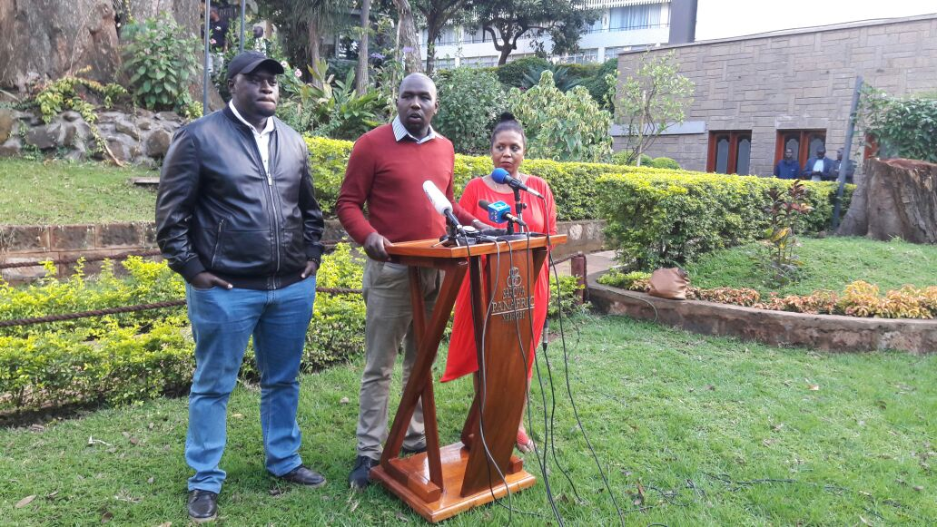 Ugly scene as Jubilee and NASA politicians square it out in full glare of Camera