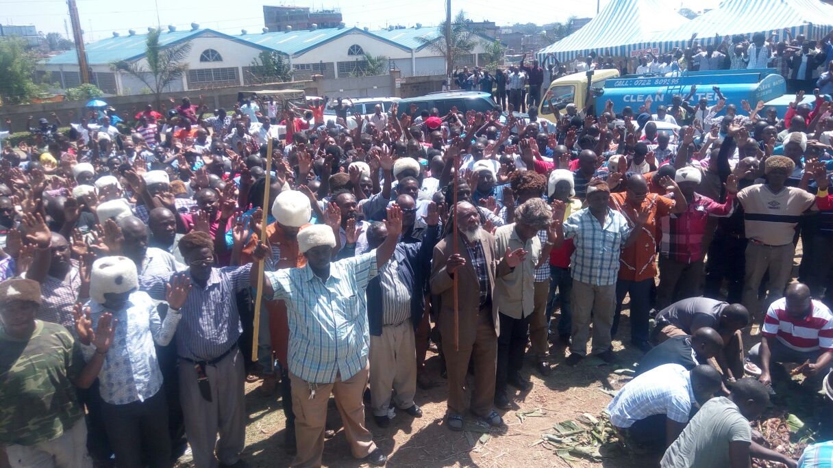 A meeting organized by a Suspicious group  scuttled in Lucky summer Nairobi