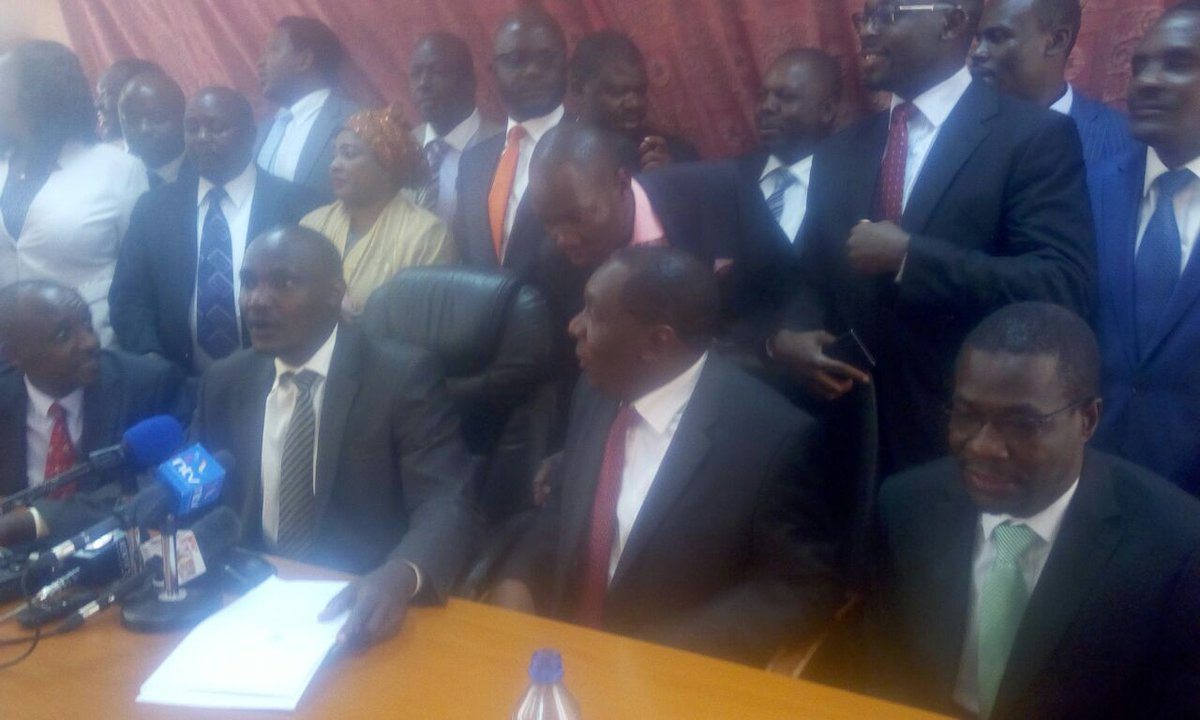 NASA MPs will not attend Tuesday afternoon parliamentary sittings