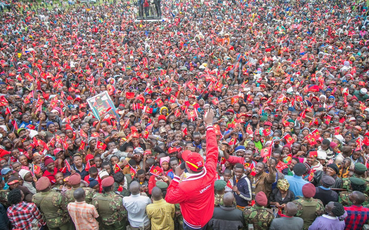 Jubilee is committed to nurturing the youth to take leadership positions, president Uhuru affirms