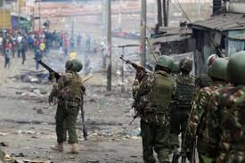 Two human rights groups report puts police on the spot over killings sparked by the August 8 poll aftermath demos