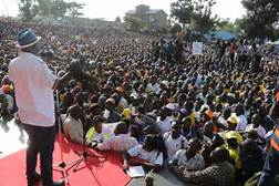 Do not protest on Thursday Oct 26 election day,Odinga tells Supporters