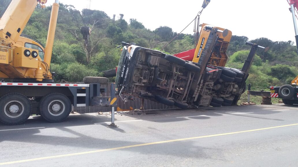 Motorists cry Foul as Transport is paralyzed along Nairobi Mombasa highway for hours