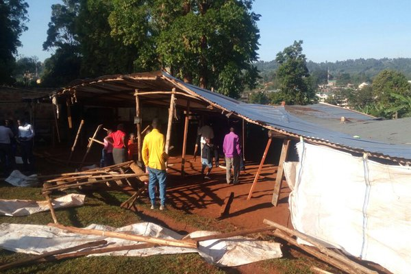 SDA  Church vandalized by unknown people in Kisii