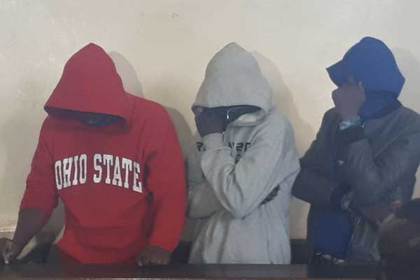 Three suspects accused of stealing kshs 50 million from KCB bank in Thika released on bond